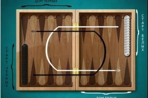 Как играть в длинные нарды (правила)