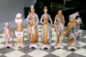 Сегодня шахматы делают из самых разных материалов