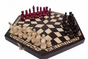 Шахи на трьох (правила), як грати в шахи на трьох