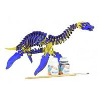 3D пазл Плезіозавр