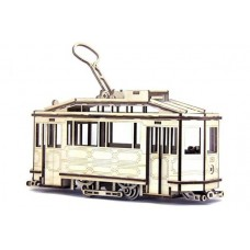 3D пазл трамвай SANOK SW 1