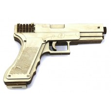 3D пазл пистолет GLOCK 19