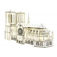 3D механический пазл Собор Парижской Богоматери