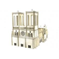 3D пазл Собор Паризької Богоматері