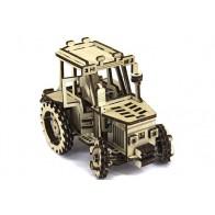 3D пазл трактор