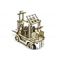 3D механический пазл погрузчик