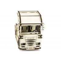 3D пазл вантажівка