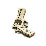 3D пазл Револьвер RHINO 60DS