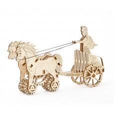 3D механический пазл Римская колесница