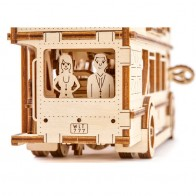 3D механічний пазл Лондонський автобус