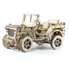3D механічний пазл Джип 4х4