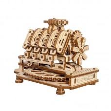 3D механический пазл Двигатель V8