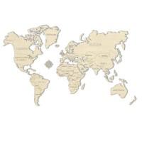 3D пазл Карта мира L (большой размер)