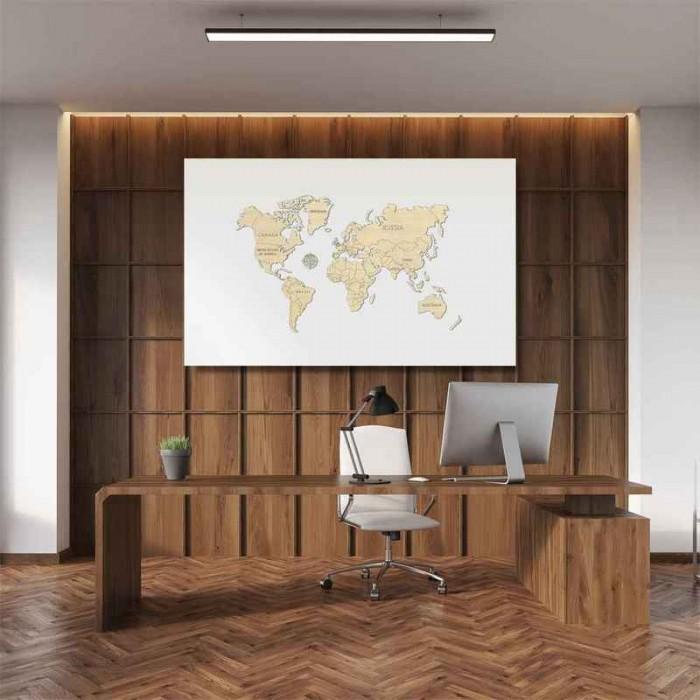 3D пазл Карта світу М (середній розмір)