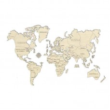 3D пазл Карта мира XL (огромный размер)
