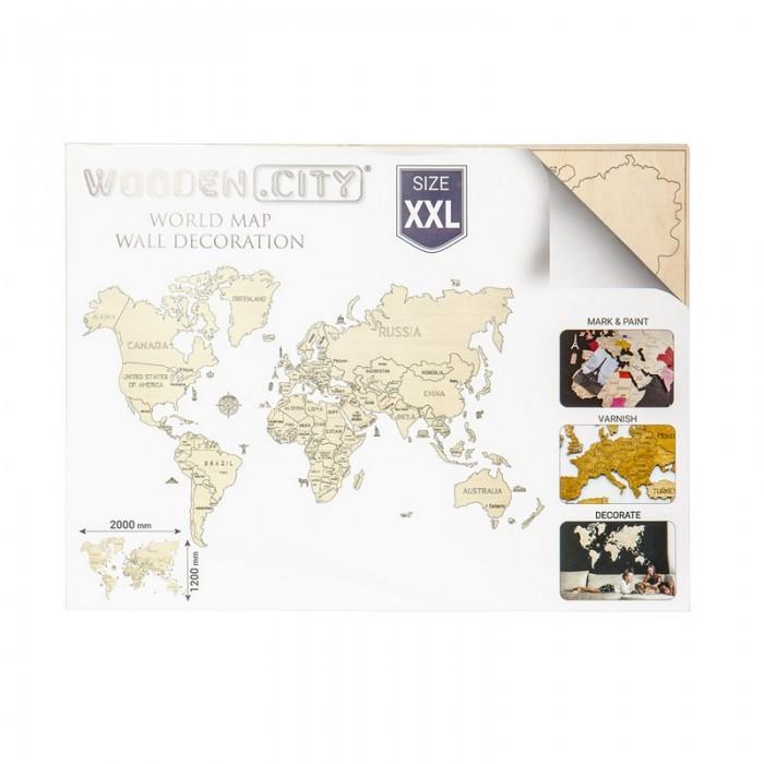 3D пазл Карта мира XXL (гигантский размер)