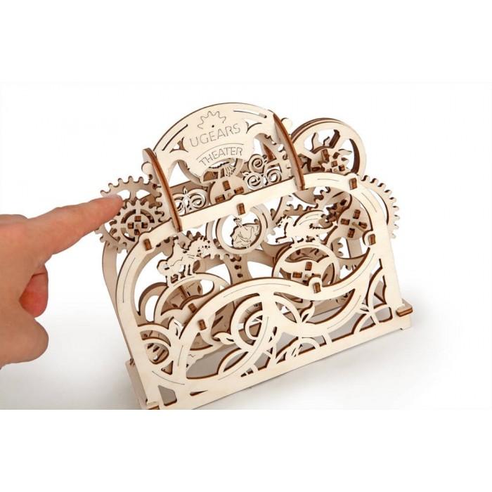 3D механический пазл Театр