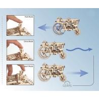 3D механічний пазл Трактор