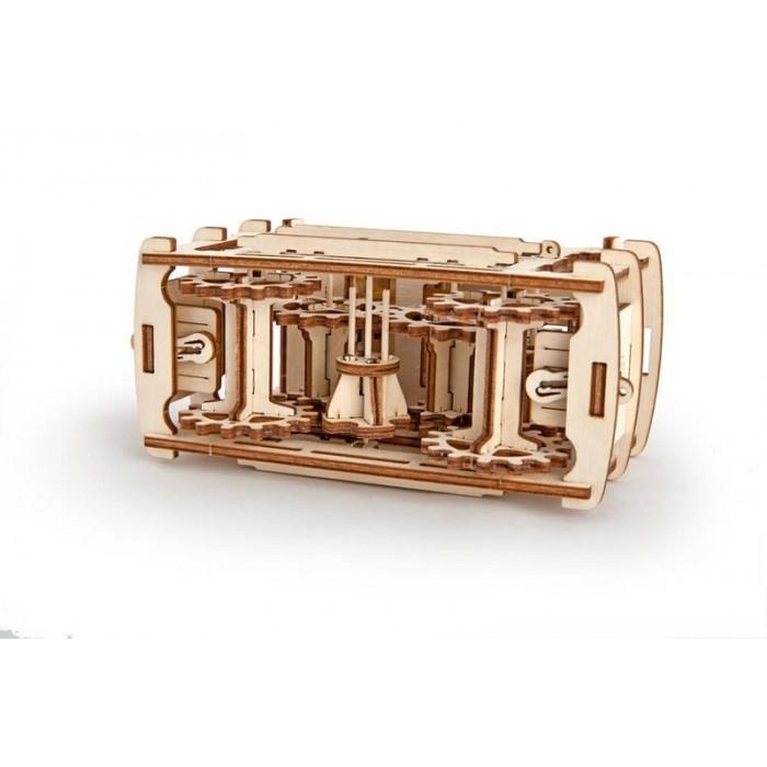 3D механічний пазл Трамвай з рейками