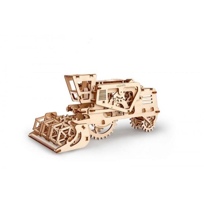 3D механический пазл Комбайн