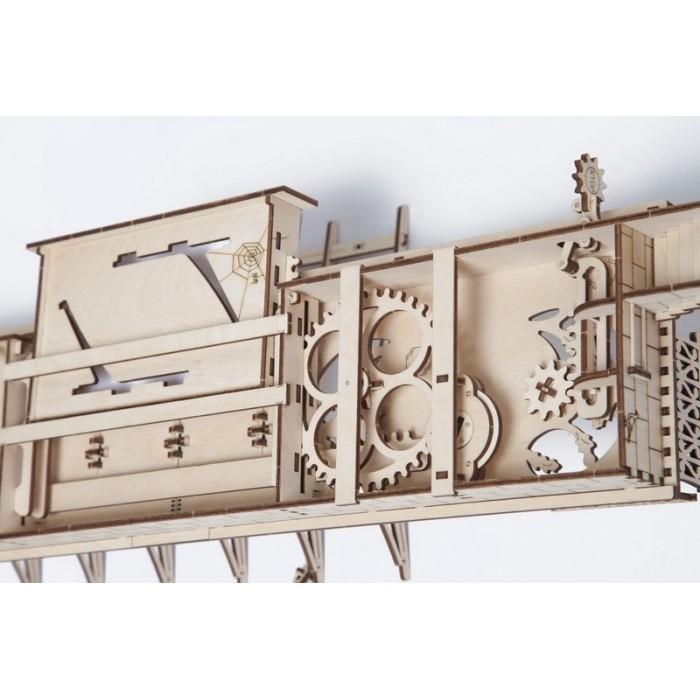 3D механічний пазл Перон до локомотиву