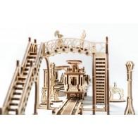 3D механічний пазл Трамвайна лінія
