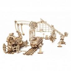 3D механічний пазл Маніпулятор на рейках