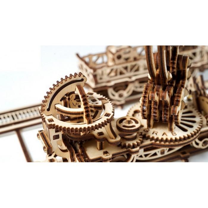 3D механический пазл Манипулятор на рельсах