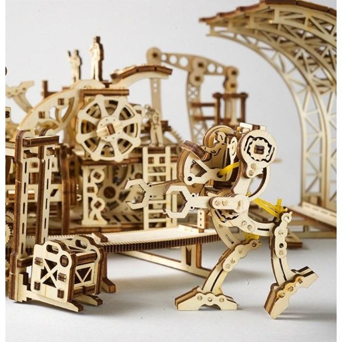 3D механический пазл Фабрика роботов