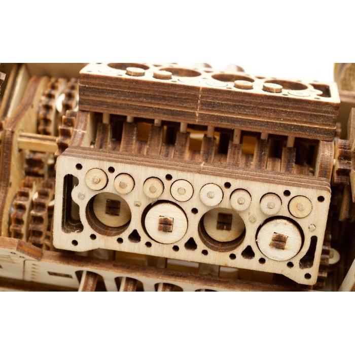 3D механический пазл Спорткар U-9 Гран-при