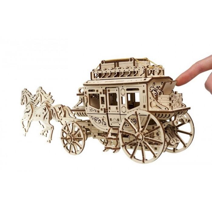 3D механический пазл Почтовый дилижанс