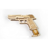 3D механічний пазл Пістолет Вольф-01