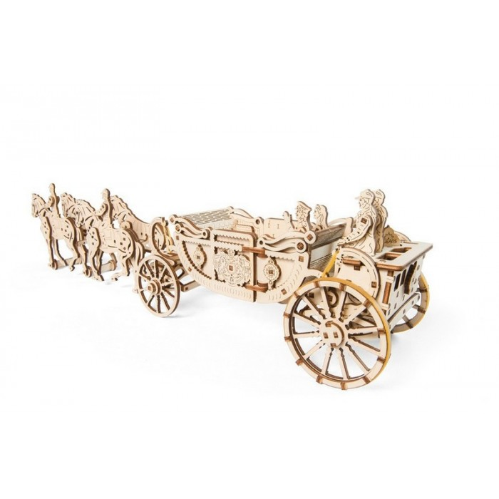 3D механический пазл Королевская карета
