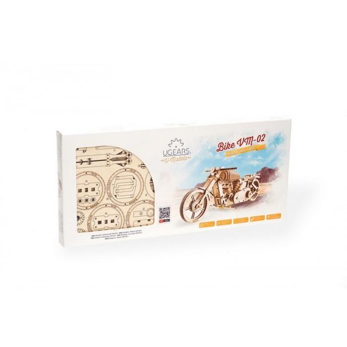 3D механический пазл Байк VM-02