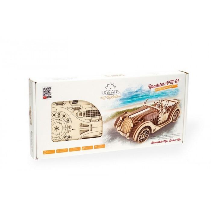 3D механический пазл Родстер VM-01