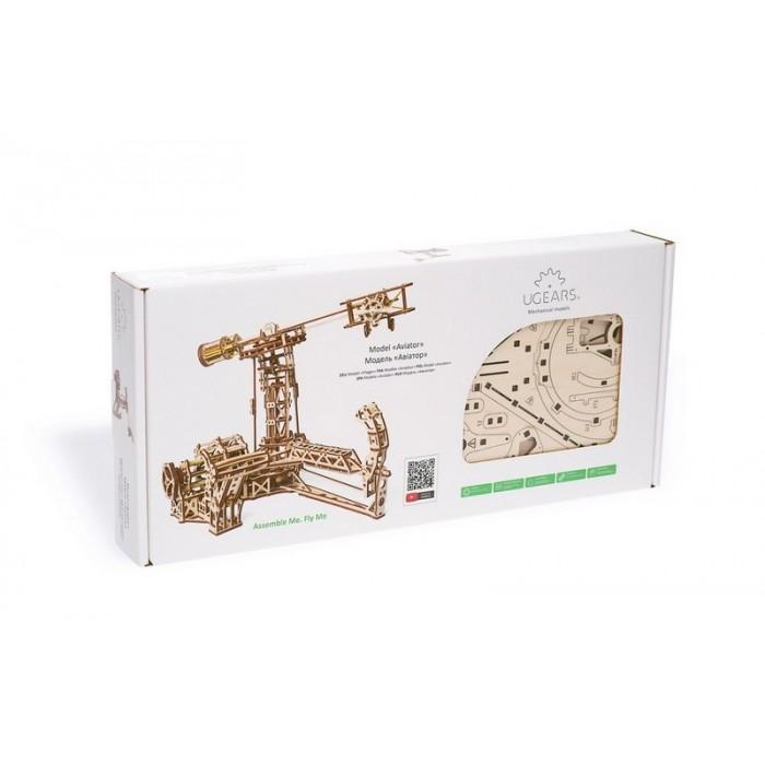 3D механічний пазл Авіатор