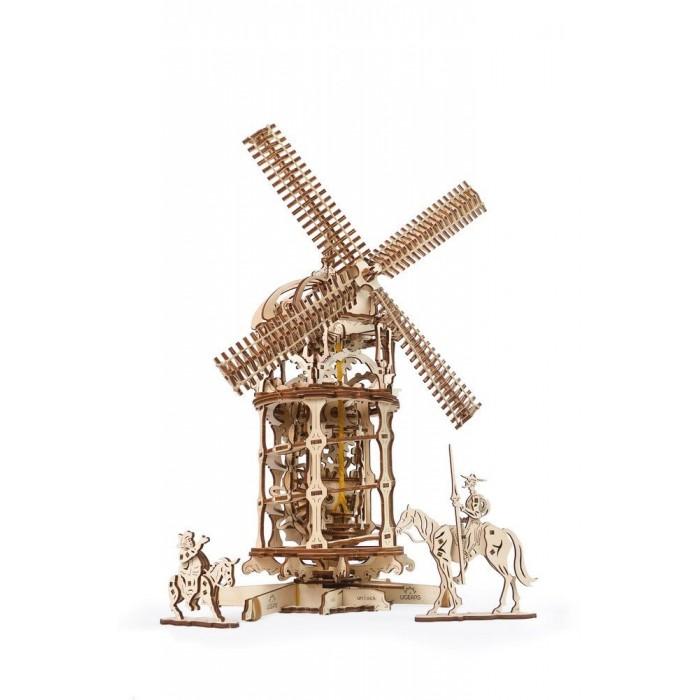 3D механический пазл Башня-Мельница