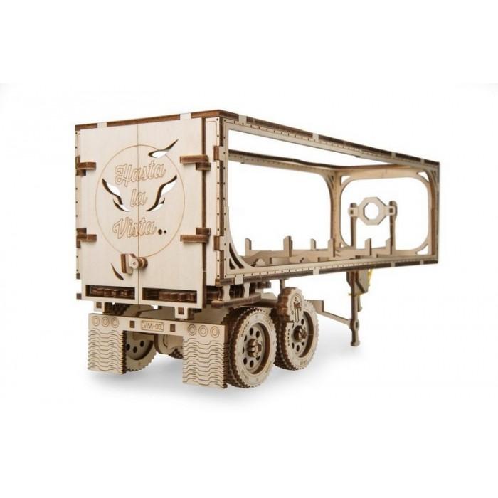 3D механический пазл Полуприцеп модели Тягач VM-03