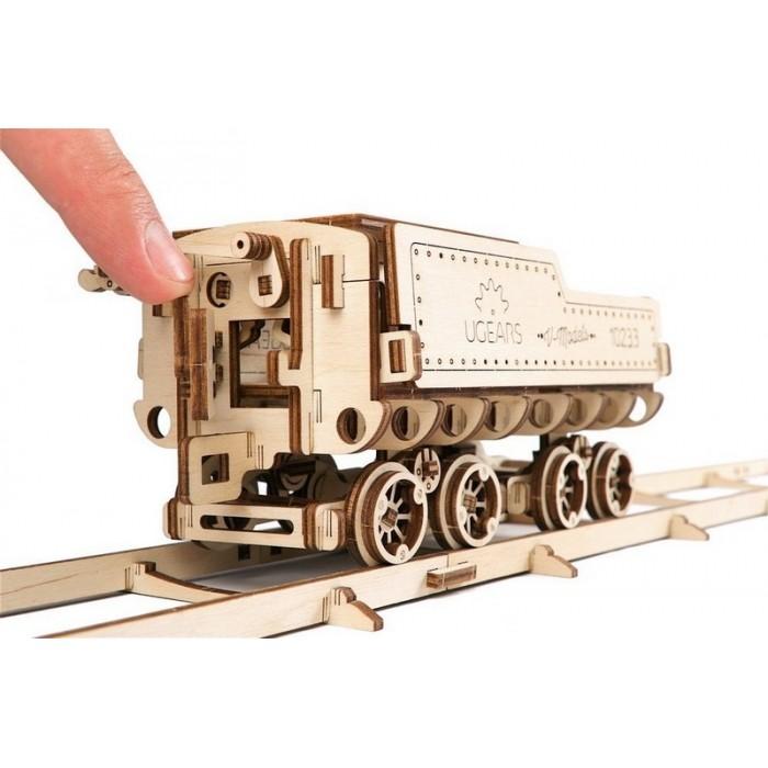 3D механічний пазл Локомотив з тендером V-Експрес