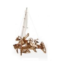 3D механічний пазл Тримаран Меріхобус