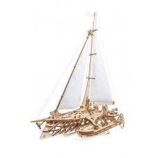 3D механический пазл Тримаран Мерихобус
