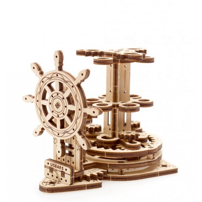 3D механический пазл Штурвал - органайзер