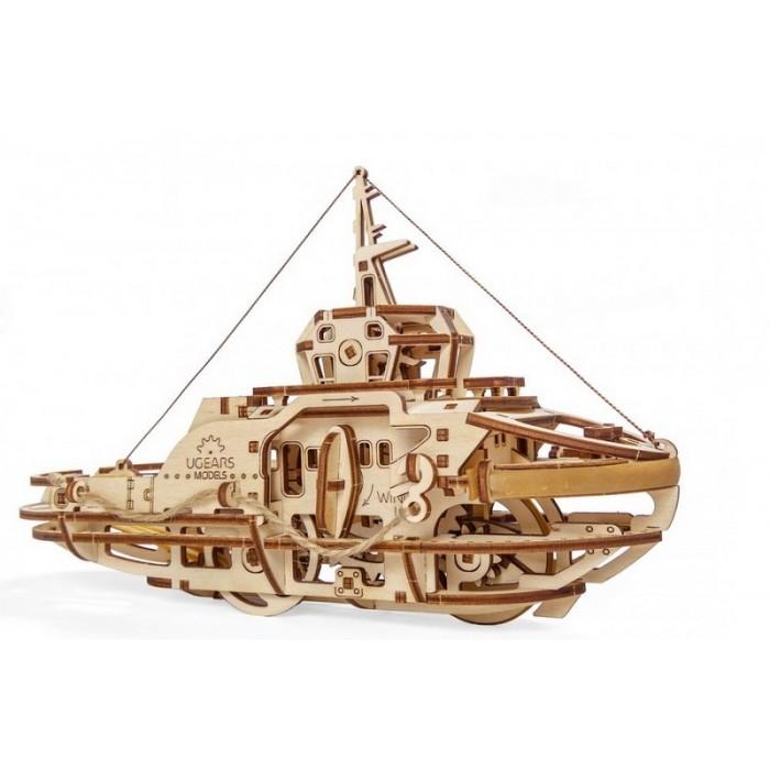 3D механический пазл Буксир