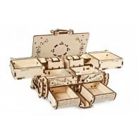 3D механический пазл Янтарная шкатулка