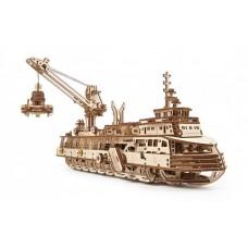 3D механический пазл Исследовательское судно