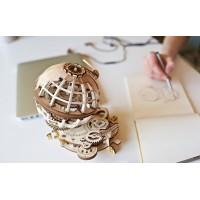 3D механический пазл Глобус