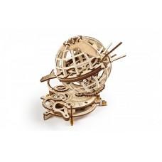 3D механический пазл Глобус UGEARS