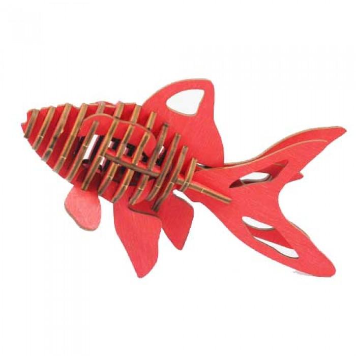 3D пазл Золотая рыбка