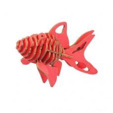 3D пазл Золота рибка