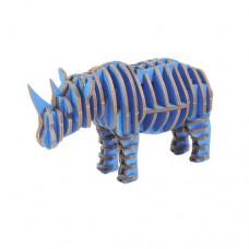 3D пазл Носорог